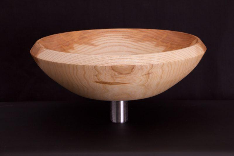 Vasque en bois en frêne