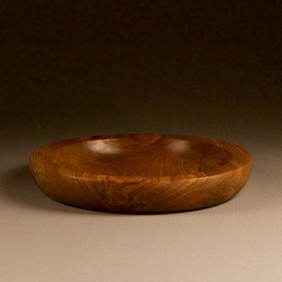 assiette creuse en bois