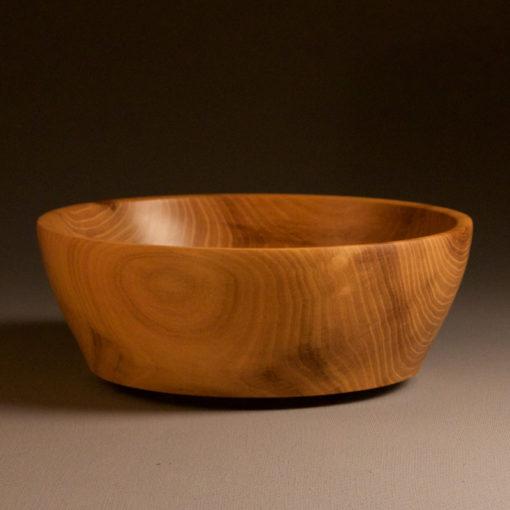 objet en bois massif saladier en bois de robinier