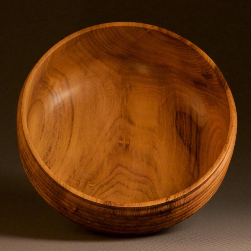 objet en bois saladier en bois massif décoration