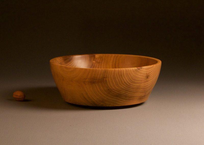 saladier en bois de robinier objet en bois massif