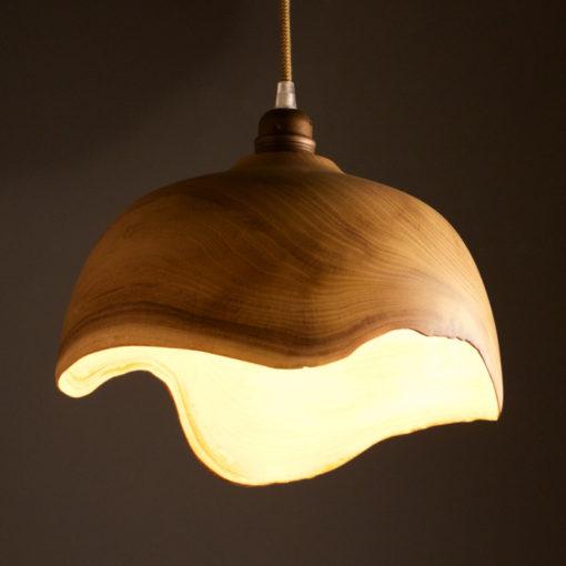belle décoration en bois fait main suspension bois