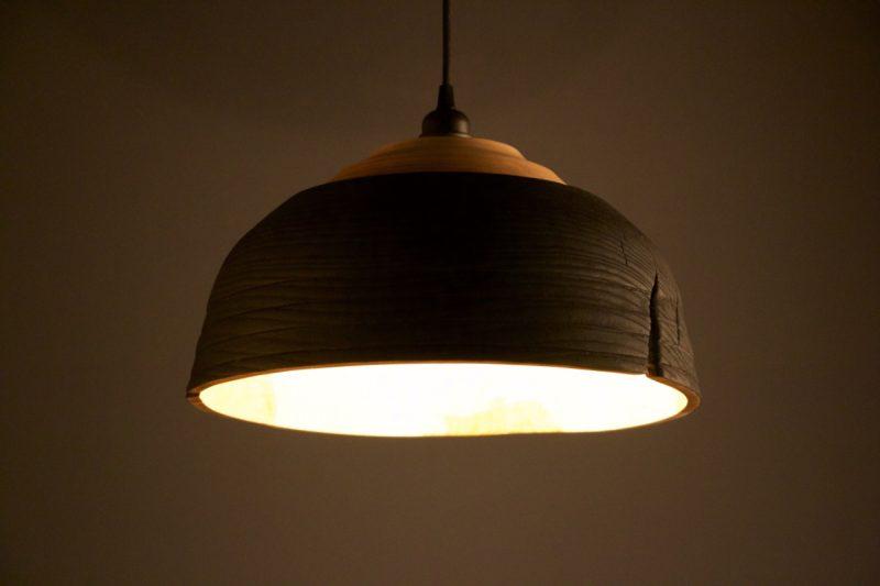 luminaire suspension yakisugi
