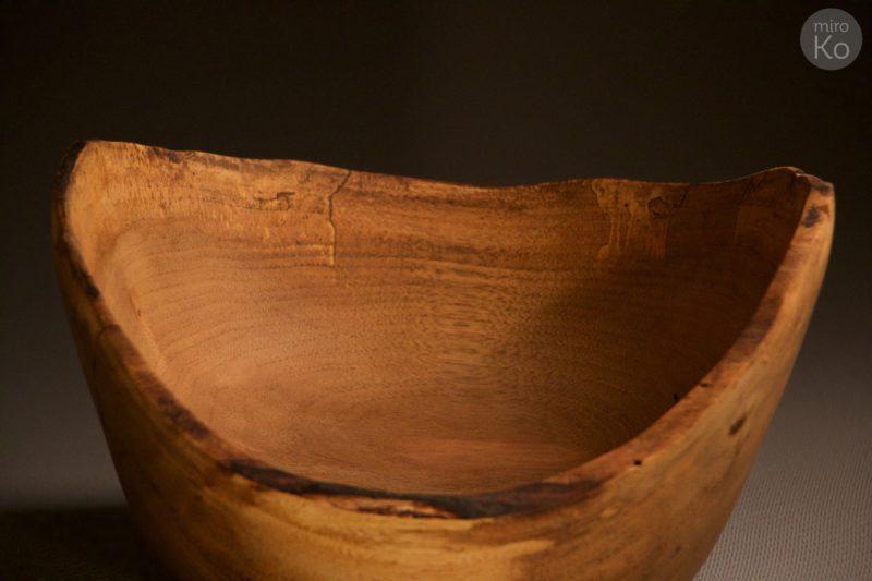 bol en bois naturel