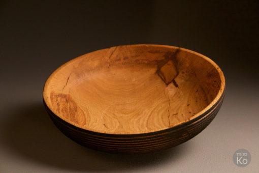 objet déco yakisugi bois