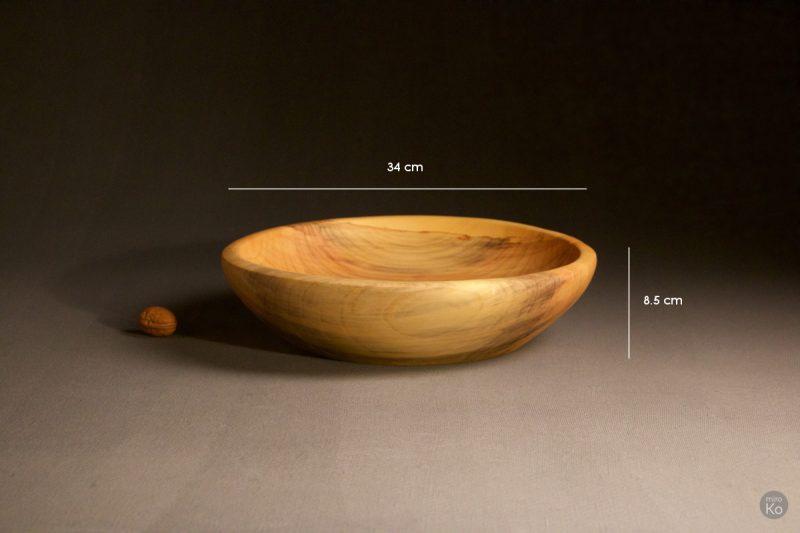 corbeille à fruits en bois de saule