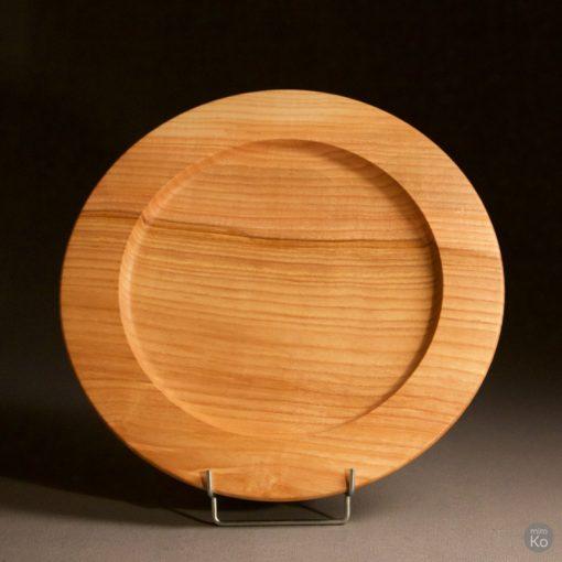 plateau à café en bois massif