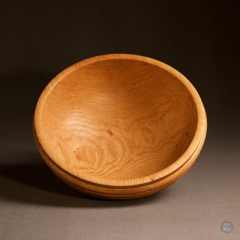 saladier en bois de chêne