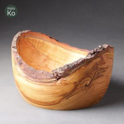 corbeille à pain en bois de merisier