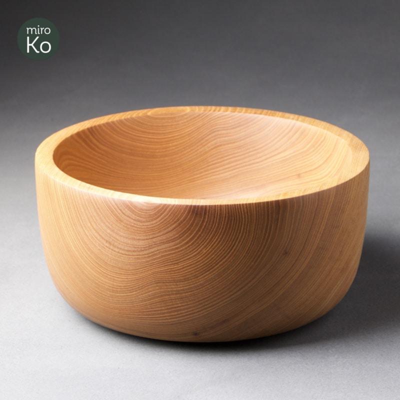 saladier en bois de catalpa