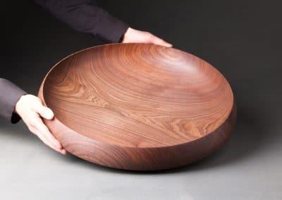 plat en bois massif