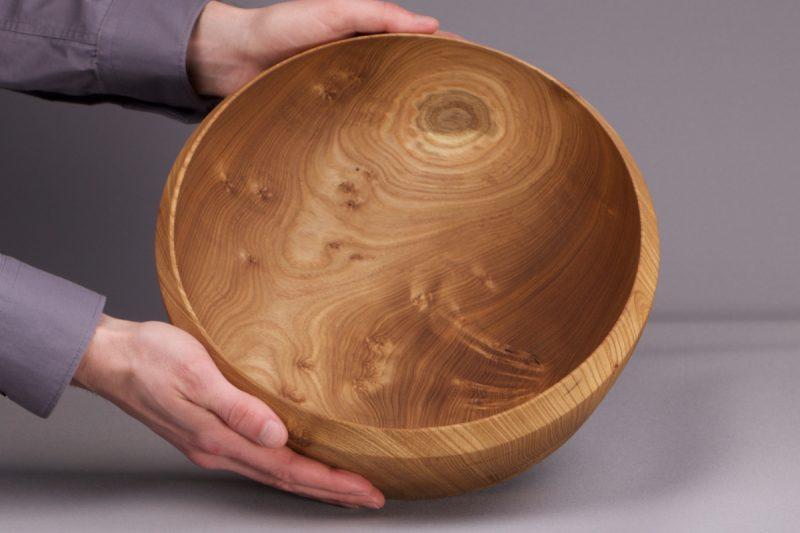 saladier en bois massif naturel