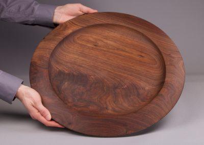 plateau à servir en bois massif