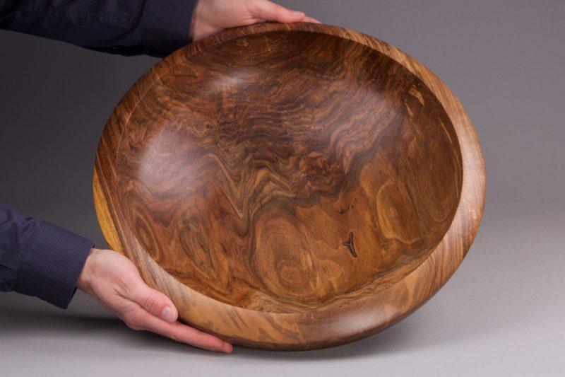 grande corbeille à fruit en bois