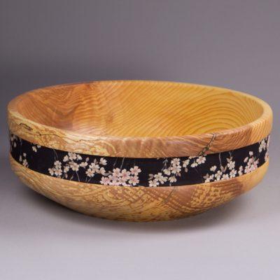 corbeille à fruit en bois originale
