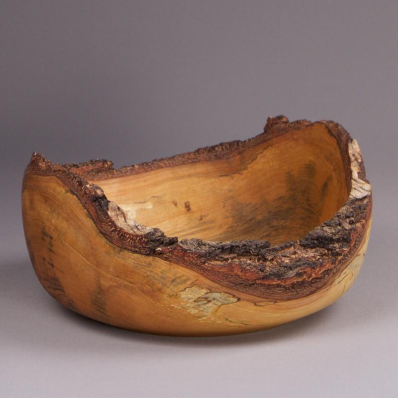 corbeille à pain en bois de bouleau massif