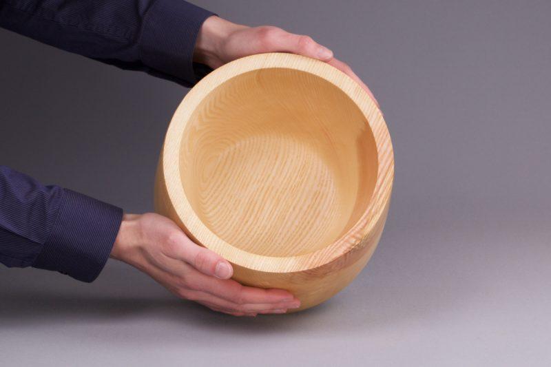 objet décoration en bois fait main