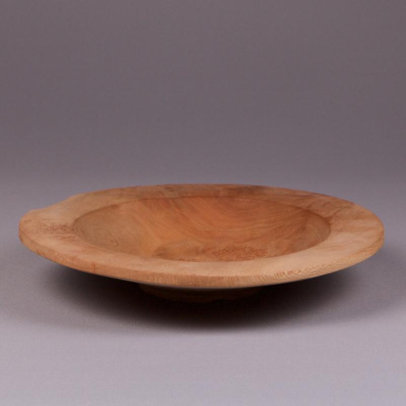 petite assiette en bois