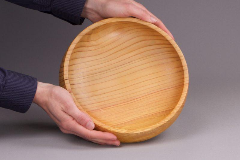 vide poche en bois de cèdre