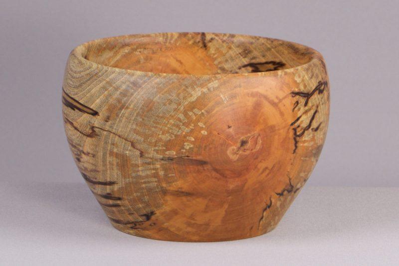 bol déco en bois