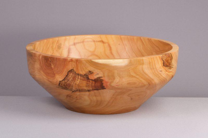 grand saladier en bois massif artisanal