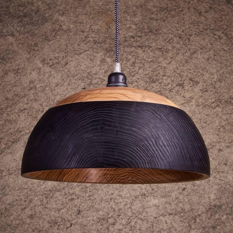 luminaires en bois suspension lampe bol vasque miroko. Black Bedroom Furniture Sets. Home Design Ideas